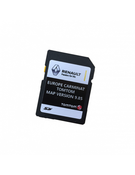 updating renault tomtom sd card